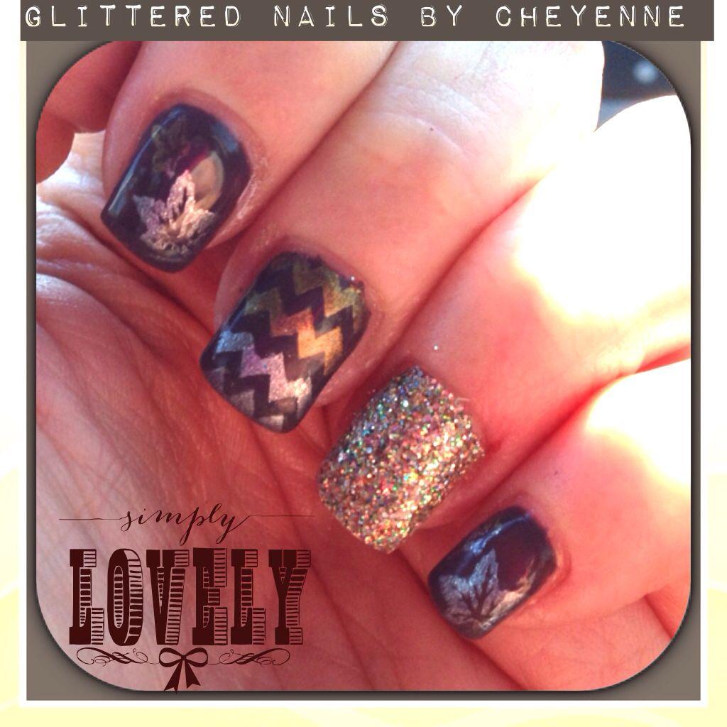 Fall nail ideas #gel | My obsession | Pinterest | Fall nail ideas ...