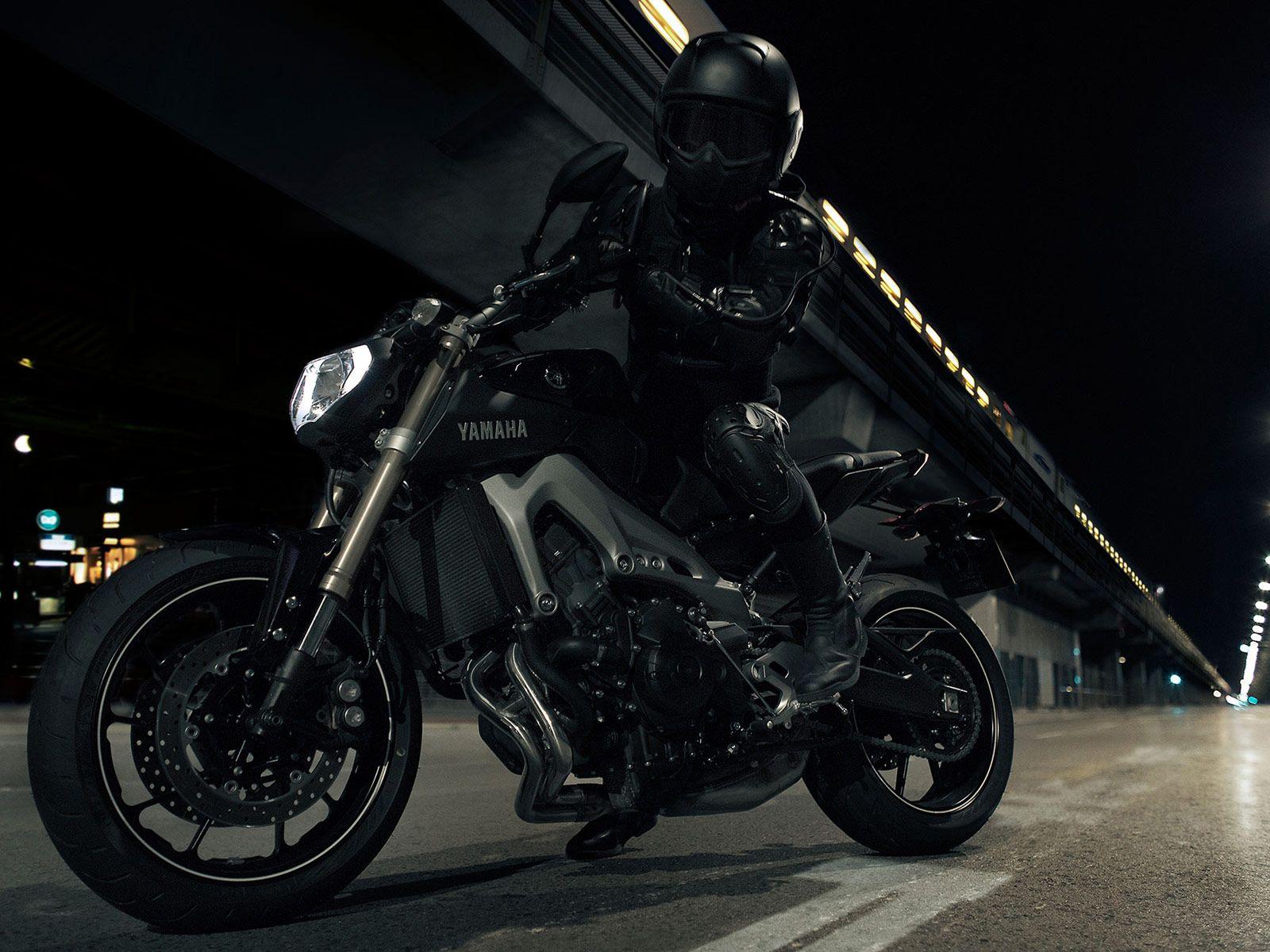 Wallpaper Yamaha Fz 10 Sportbikes 2017 Bikes Yamaha Hd: Yamaha FZ Black Rider Test Ride HD Wallpaper