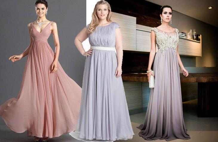 e7c6a8eea3e3 Modelos de vestidos de festa para copiar | Roupa_festa | Vestido ...