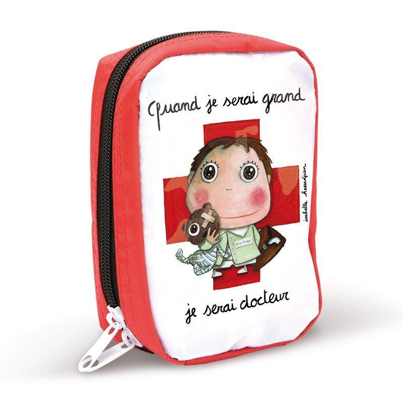Trousse de premiers secours quand je serai grand je serai docteur by isabelle kessedjian - Trousse docteur la peluche ...