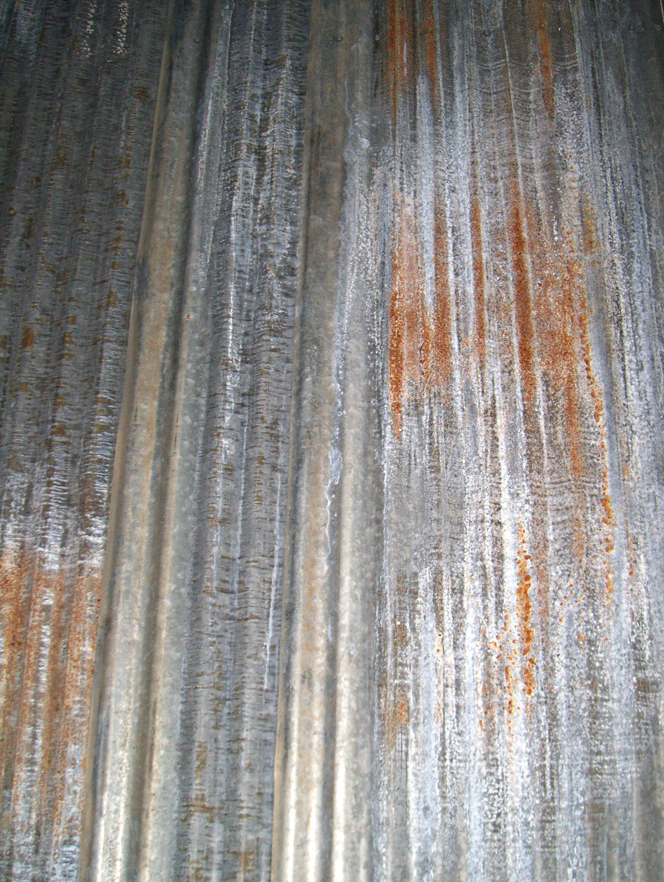 Aged corrugated metal wall Wall Finishes Pinterest Corrugated