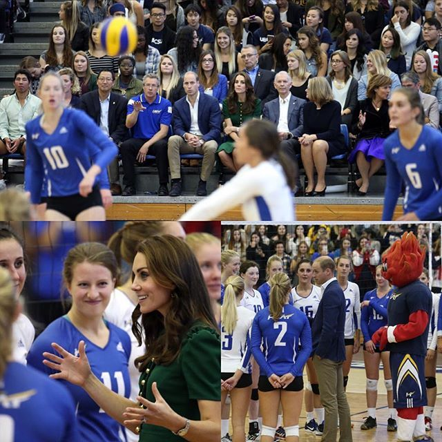 Great to meet so many UBC athletes (and Scorch the mascot!) in Kelowna today as the campus celebrates its 10 year anniversary #RoyalVisitCanada 🇨🇦 Image © PA