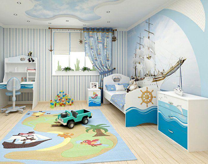 1001+ Ideen für Kinderzimmer Junge Einrichtungsideen