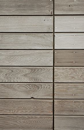 Weathered Canadian Western Red Cedar Cladding Supplied By