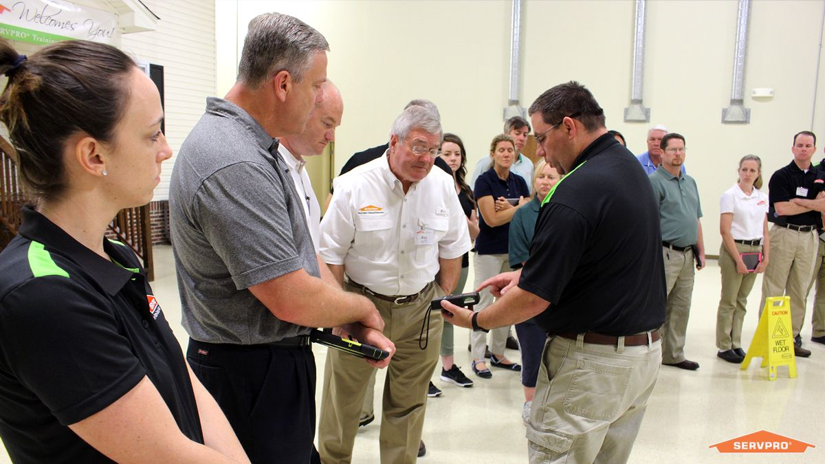 Servpro offers training for new and old employees