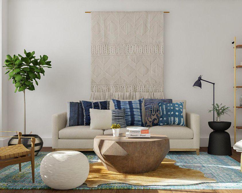 modern rustic living room - Modern Rustic Living Room