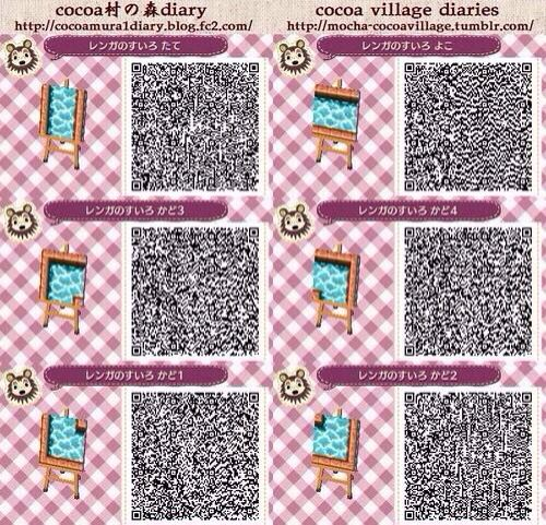 Acnl Water Path Qr Code Acnl Qr Codes Animal Crossing Animal