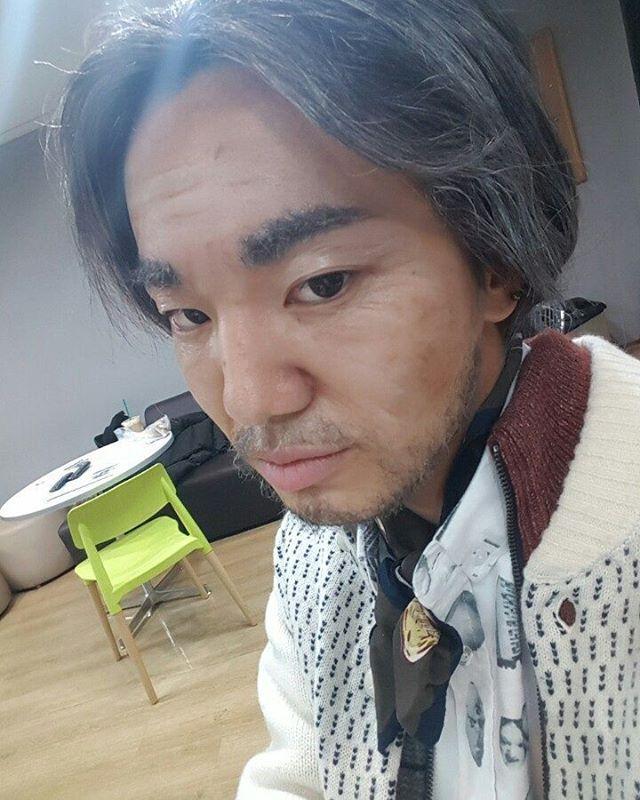 "161231 Sungjong IG update ""2016 마지막날 70년뒤.. 내모습 #mbc가요대제전  #인스피릿사랑해♡"""