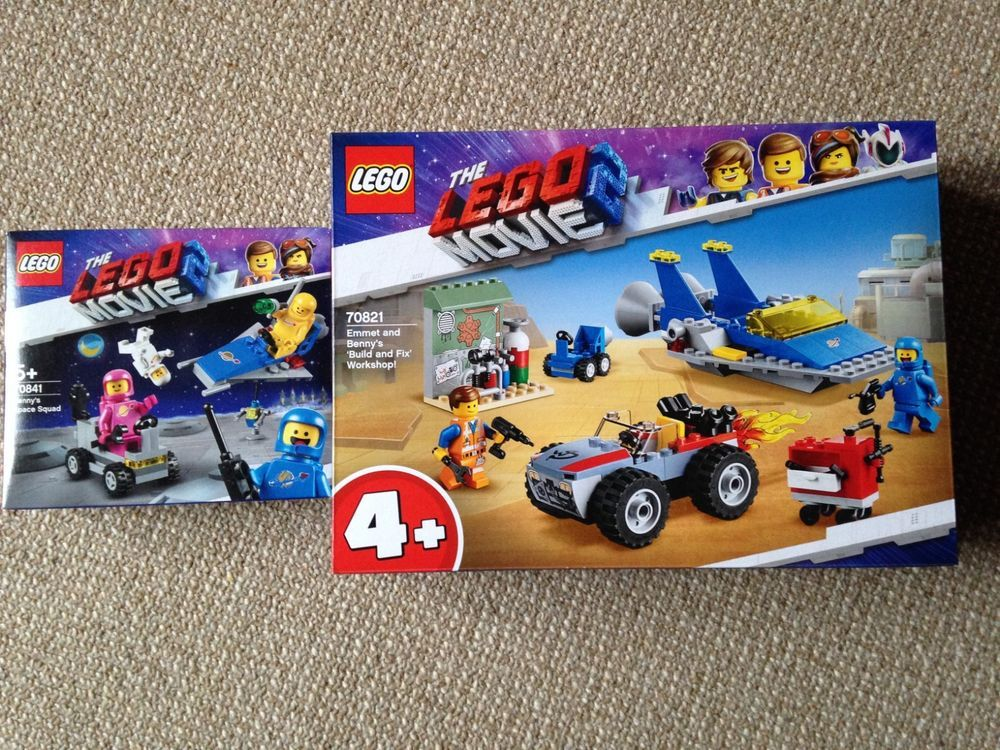 Brand New The Lego Movie 2 Classic Space 2pack 70841 70821