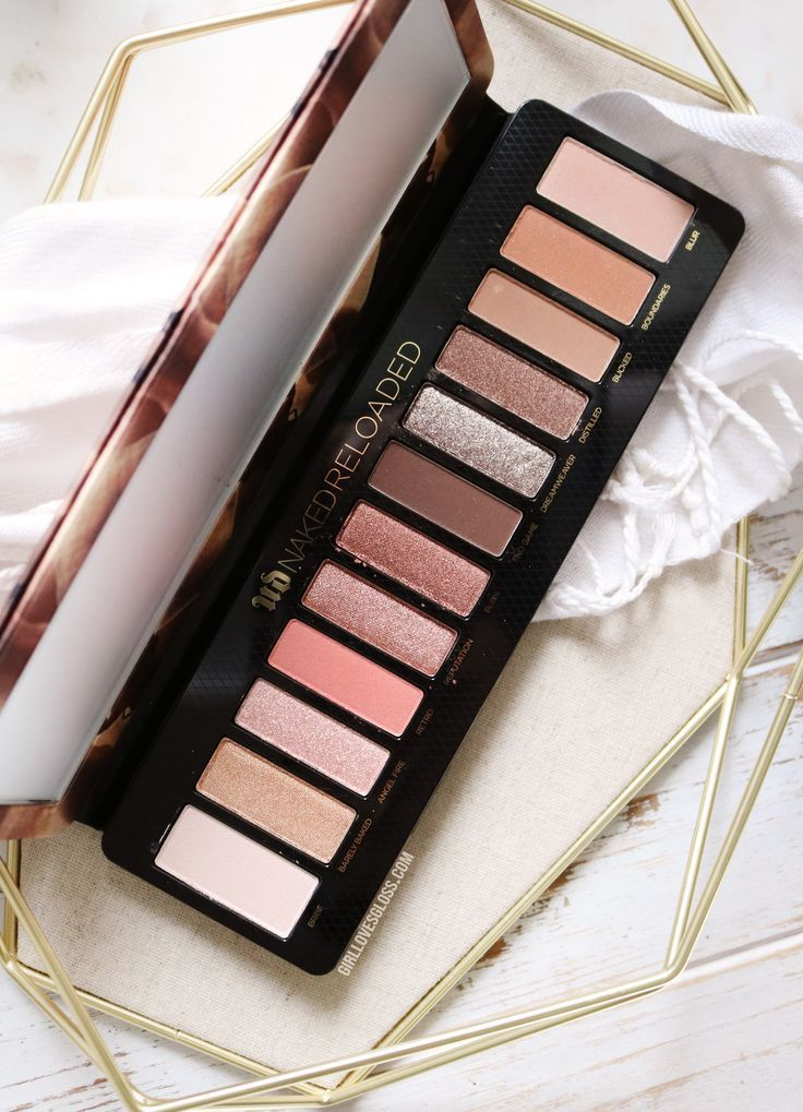 Emmie Reviews - Urban Decay Naked Reloaded Palette - Emmie