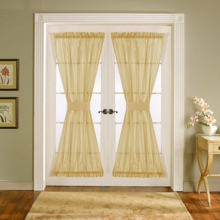 Cortinas para puertas de cocina para decorar el interior   Cortinas ...