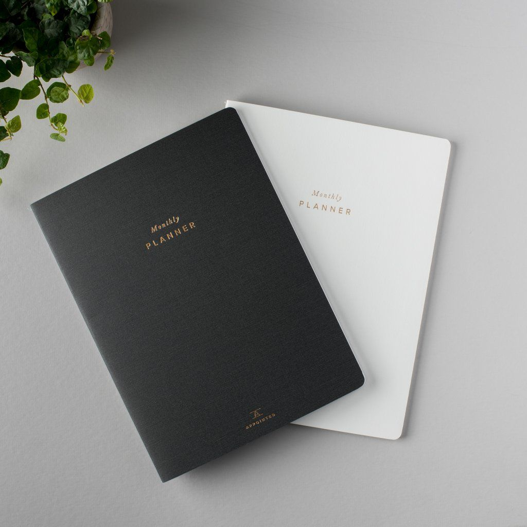 Appointed Monthly Planner