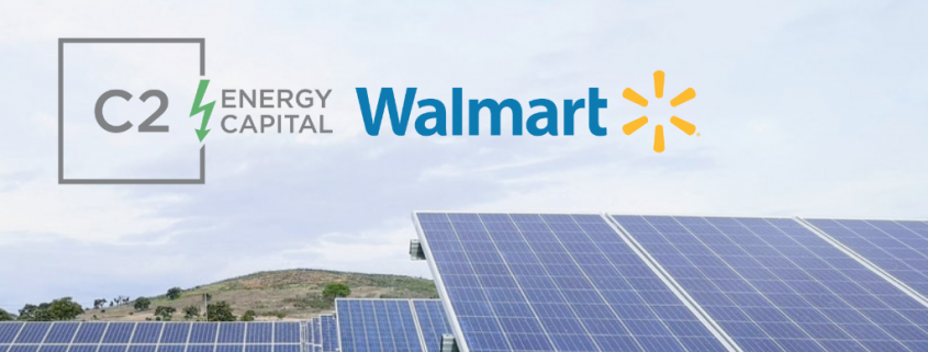 C2 Energy Capital Signs Agreements With Walmart For 46 Solar Projects Across Five U S States Solar Business H Solar Projects Solar Renewable Energy Projects