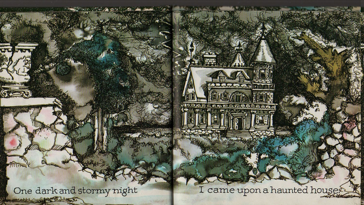 The Haunted House Written By Bill Martin Jr Illustrated
