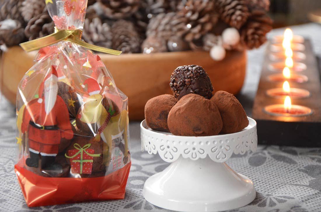 Truffes au chocolat pétillant {cadeau gourmand} via @sophieturbigo