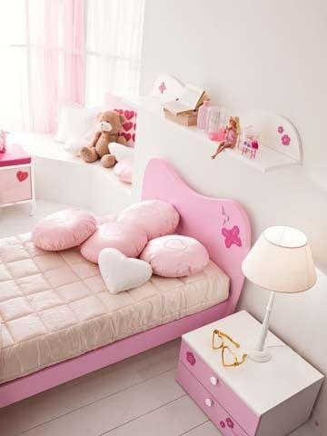 Composiciones para cuarto de ni a barbie favola muebles for Camas nidos para ninas