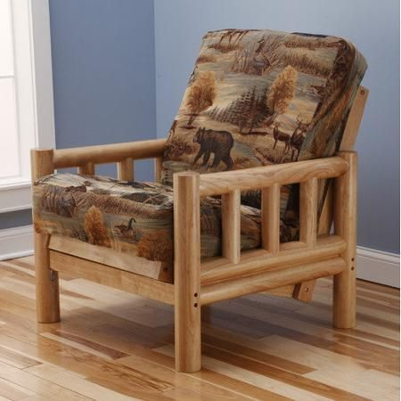 Kodiak Furniture Lodge Canadian Futon Chair And Mattress Walmart