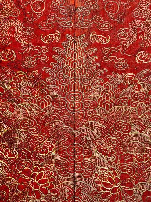 Detail of Festival Robe MMA Current China Exhibit
