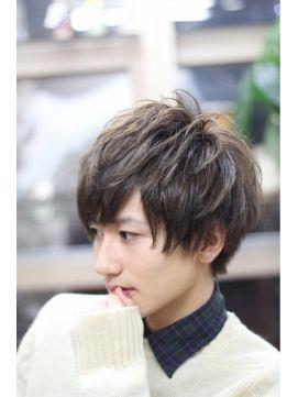 メンズ ミディアムマッシュ/zero hair 【ゼロ