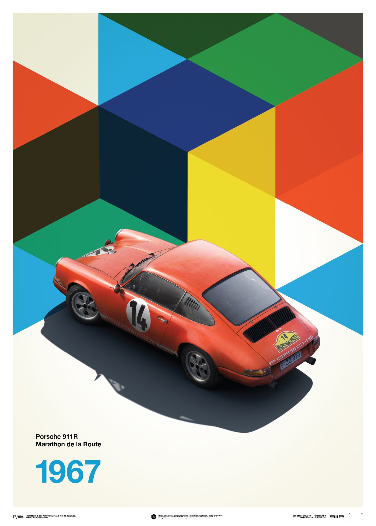 New Automobilist Prints By Unique Limited Have Been Added To The Shop Retro Graphic Design Vintage Poster Art Porsche