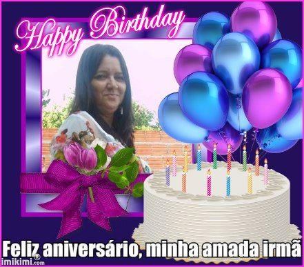 Feliz aniversário, minha amada irmã
