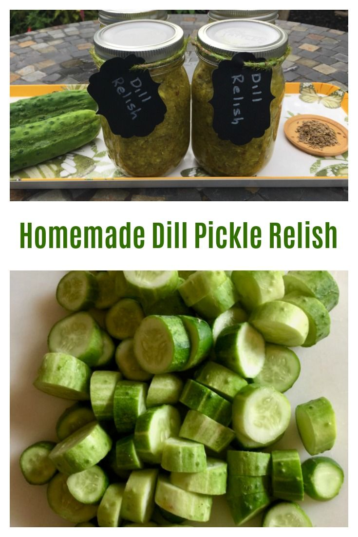 Dill Pickle Relish | Recipe | Dill pickle relish, Pickles ...