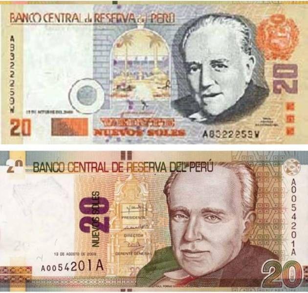 Billetes Peruanos Billetes Historia De La Moneda Billetes Del Mundo