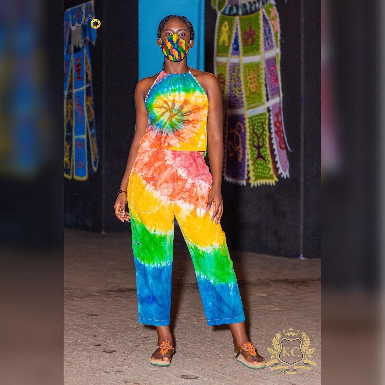 🌈🌈🌈🌈 @awoooo.01 shot by @thisberioshot  #kasaclothing #kasatotheworld#kasatiedye #tiedye #tyedye #kasa #simple #lifestyle #styleup #style #dyes #tiedyetrousers #tiedyetop #tiedyeshirts #dyes #shirts #africa #madeinafrica #africa #ghana #madeinghana #accra #accrawedey #yoyo #yoyotinz #beauty
