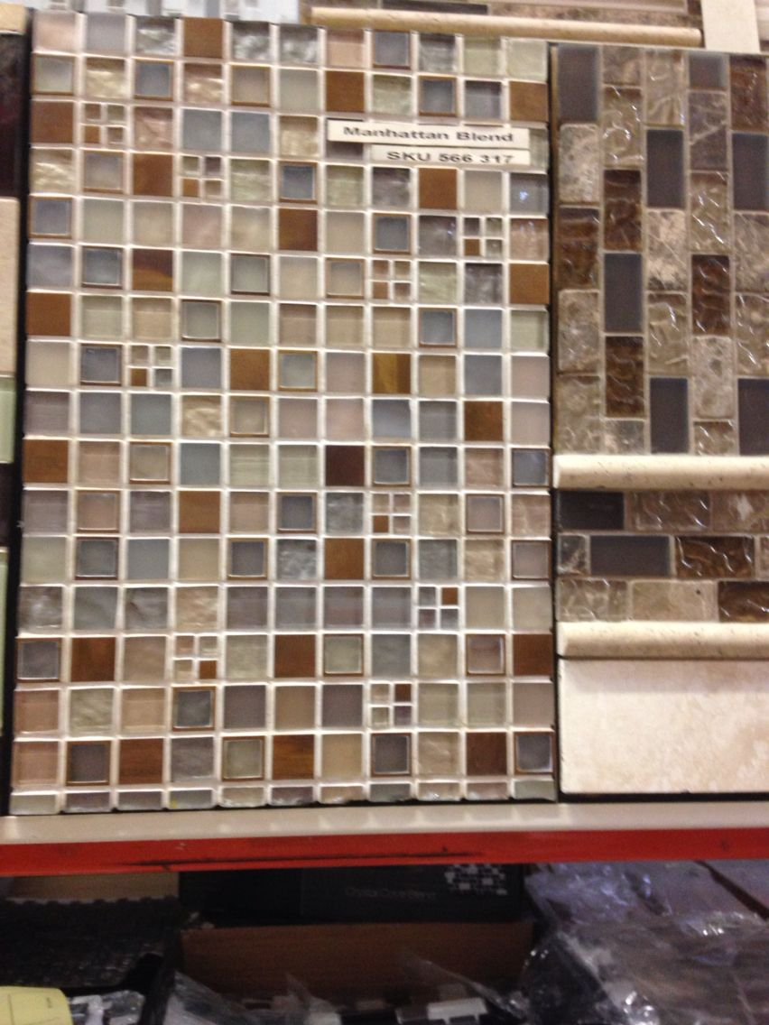 Manhattan Blend mosaic tile for backsplash | Winter Projects in ...