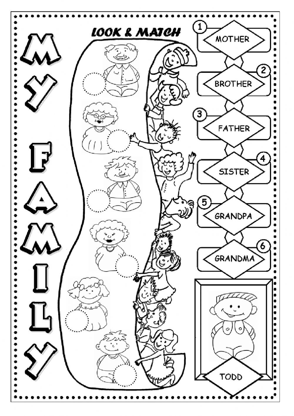 the Family interactive and downloadable worksheet. You can ...