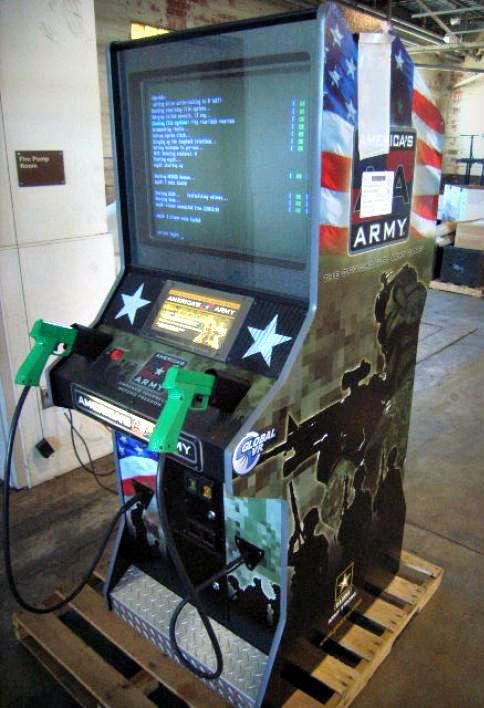 Man Cave Arcade Facebook : Americas army video game this arcade would look