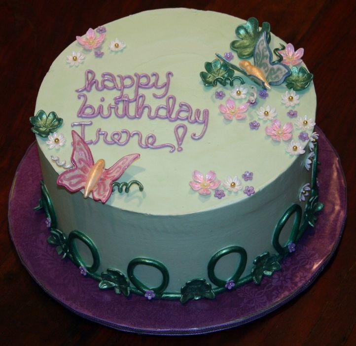 40th Birthday Cakes For Ladies
