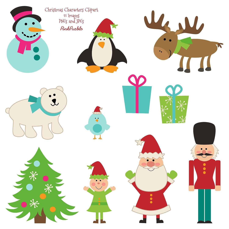 Christmas Clipart Clip Art, Christmas Animal Clipart Clip Art ...