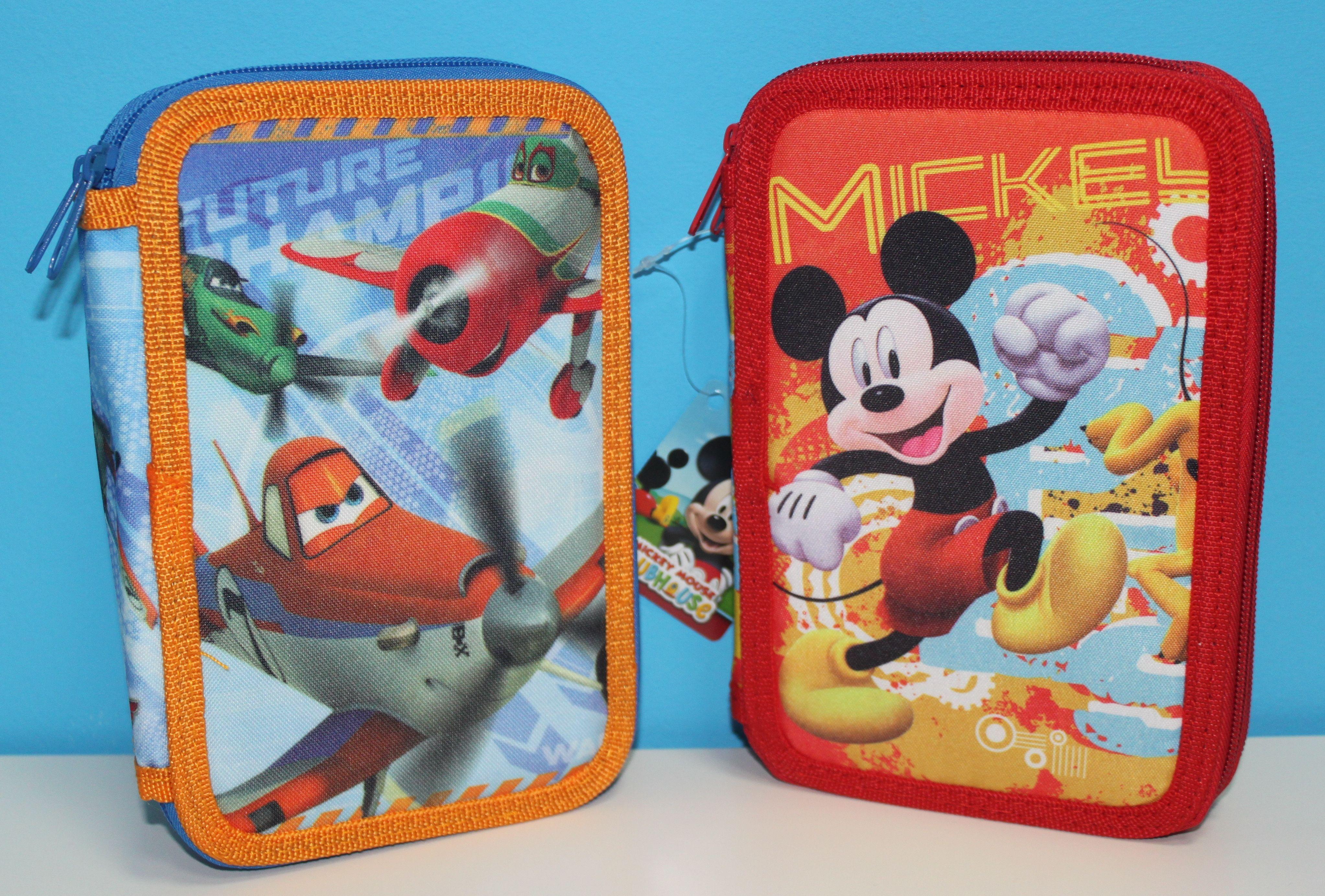 Plumiers de Aviones-Planes & Mickey Mouse Doble