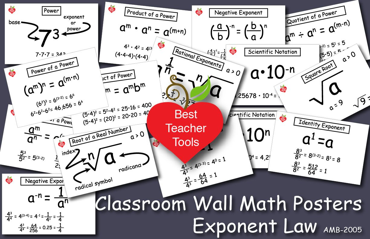 Exponents Updated Product One Set In A Series Of