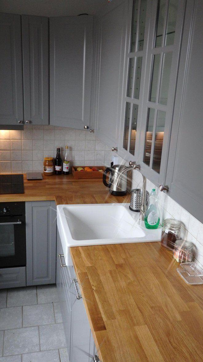 Wyposażenie, Kuchnia z ikea Skończona kuchnia