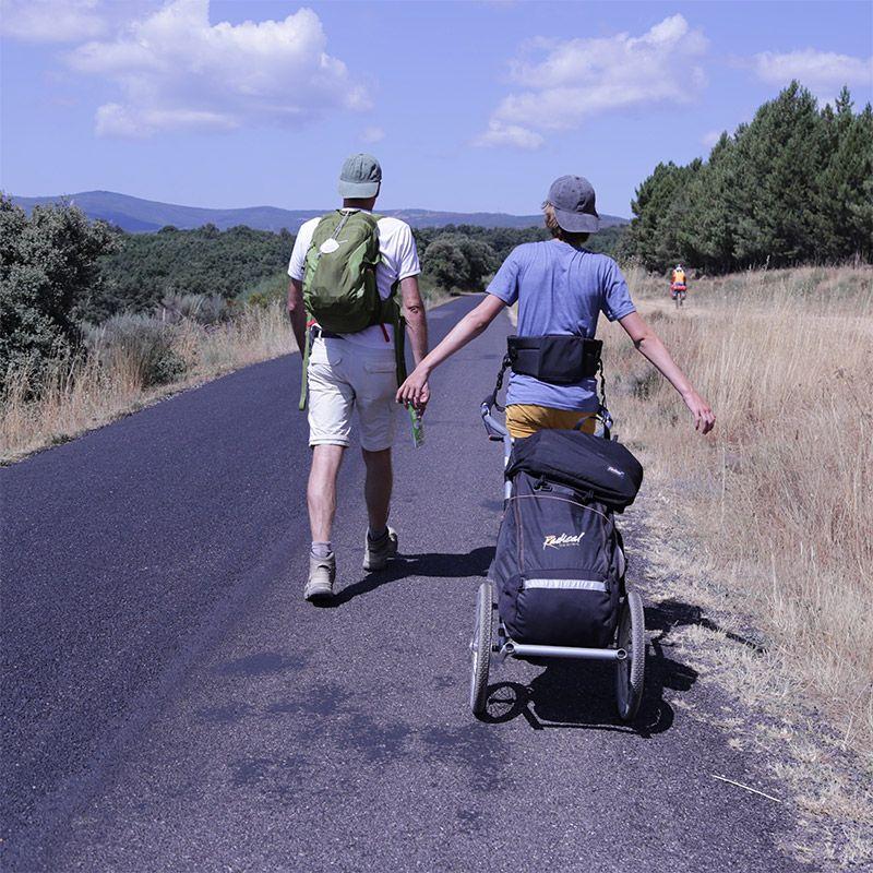 Walking Hiking Trailers For Long Distance Walking Radical Design