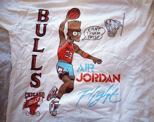 Black Bart Bulls Air Jordan Tee | Jordan tees, Vintage ...Black Bart Simpson Do The Right Thing