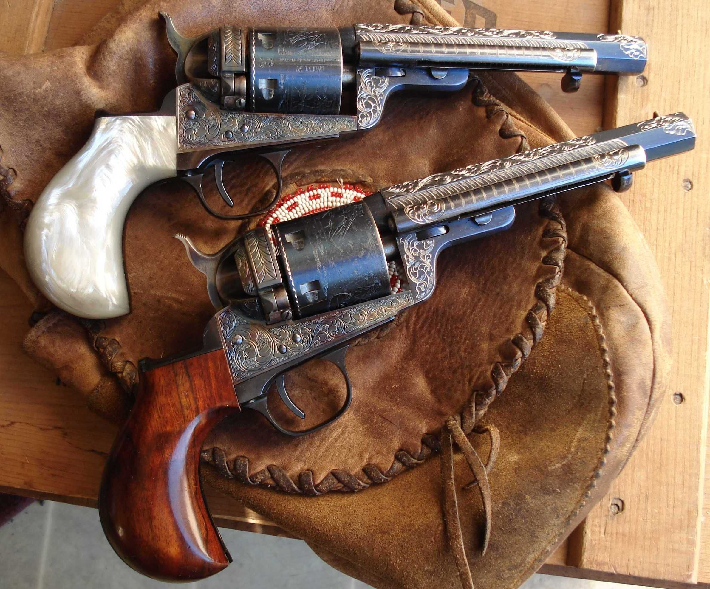 Double pistol handgun revolver gun display case cabinet rack shadowbox - 1851 Mason Richards Conversions Cowboy Guns Pinterest Guns Weapons And Revolvers