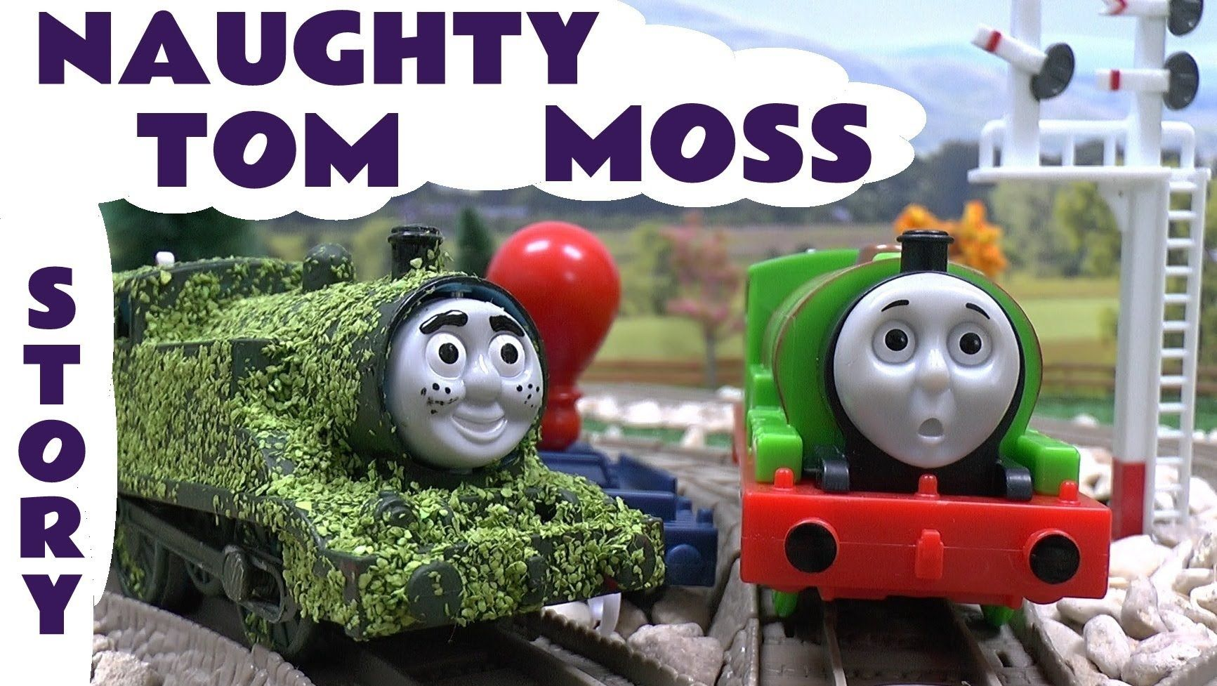 Tom Moss The Prank Engine Thomas and Friends Funny Kids Toy Story ...