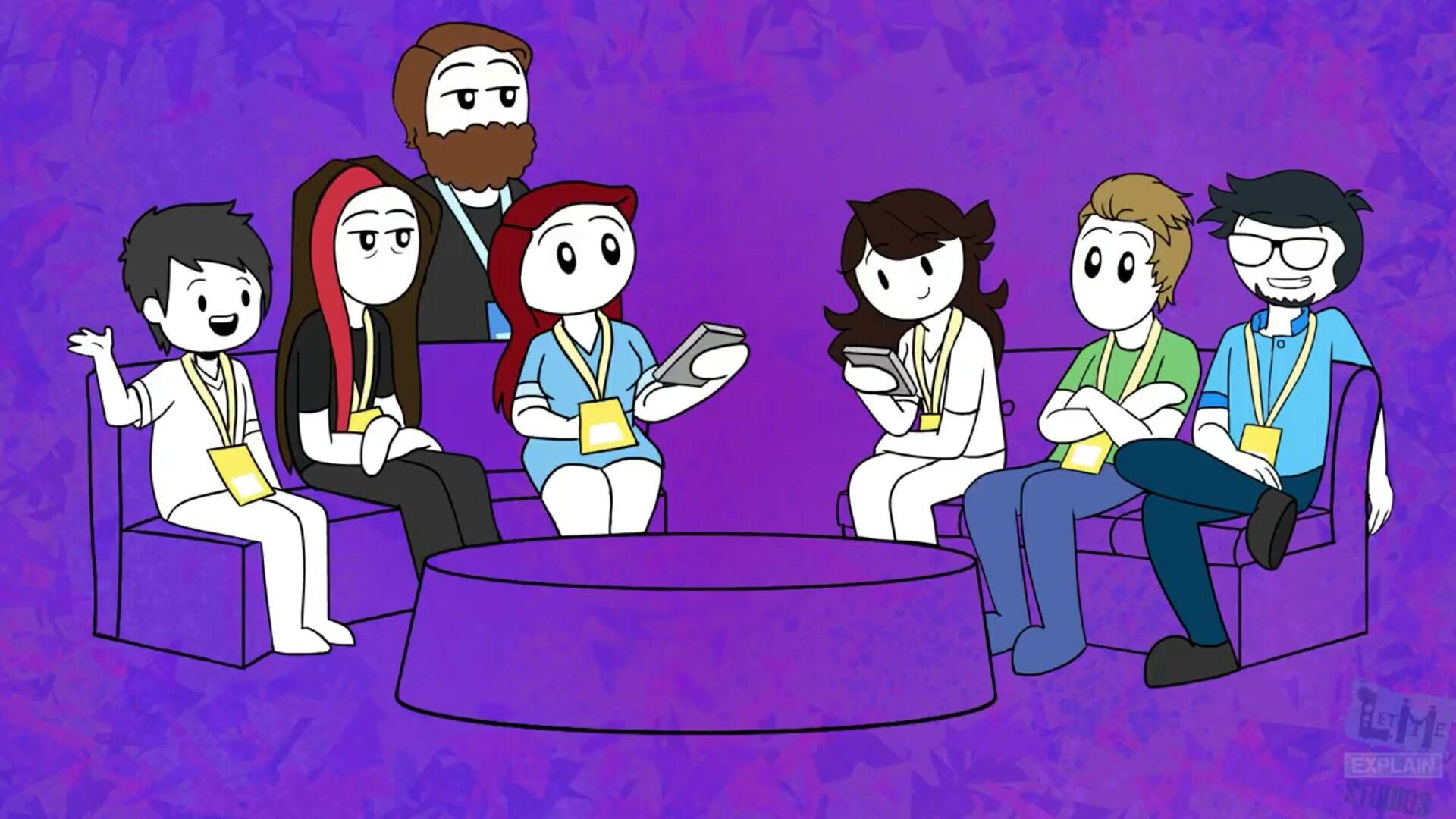 At Vidcon 5 Jaiden Animations Youtube Art Anime Drawings Tutorials