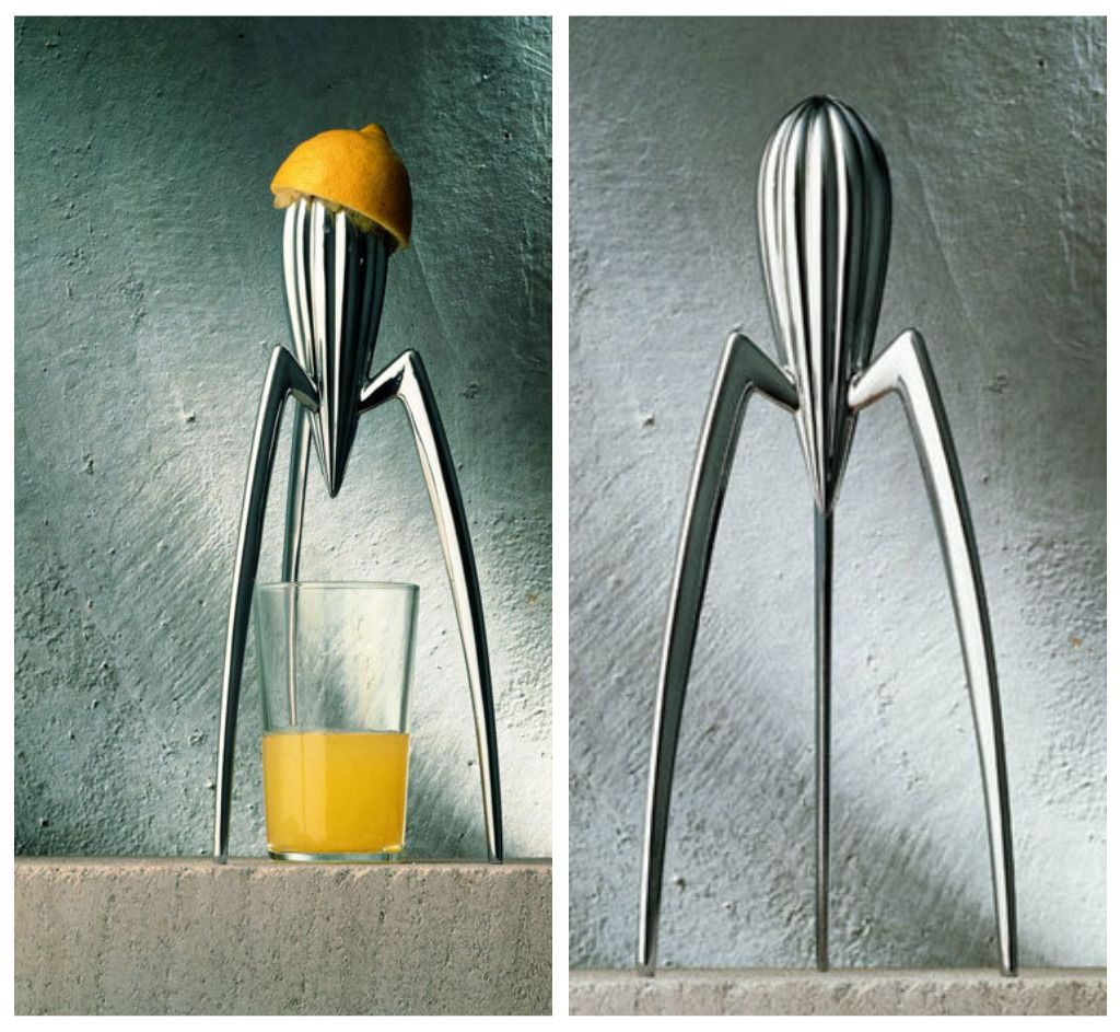 the remarkable juicy salif juicer  philippe starck and alessi - juicy salif lemon squeezer by philippe starck for alessi