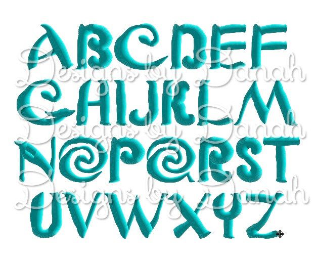 Moana machine embroidery font machine embroidery designs for Descargar embroidery office design 7 5 full