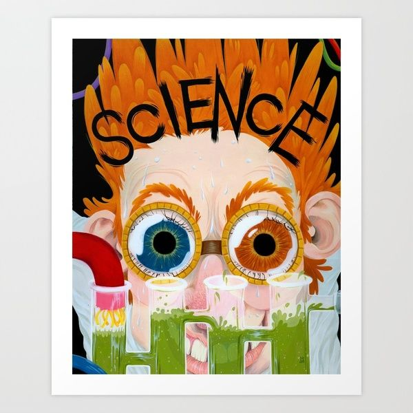 SCIENCE! Art Print by Britt Wilson | Society6