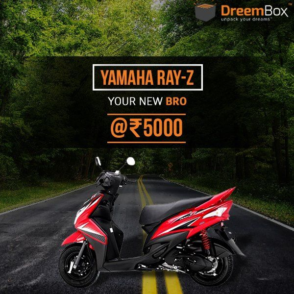 Just 1 More Day To Win Your Yamaha Ray Z Only At 5 000 Rs Register Now At Www Dreembox Com And Play On Hurry Auction India Win Bidding Sites Auction Bid