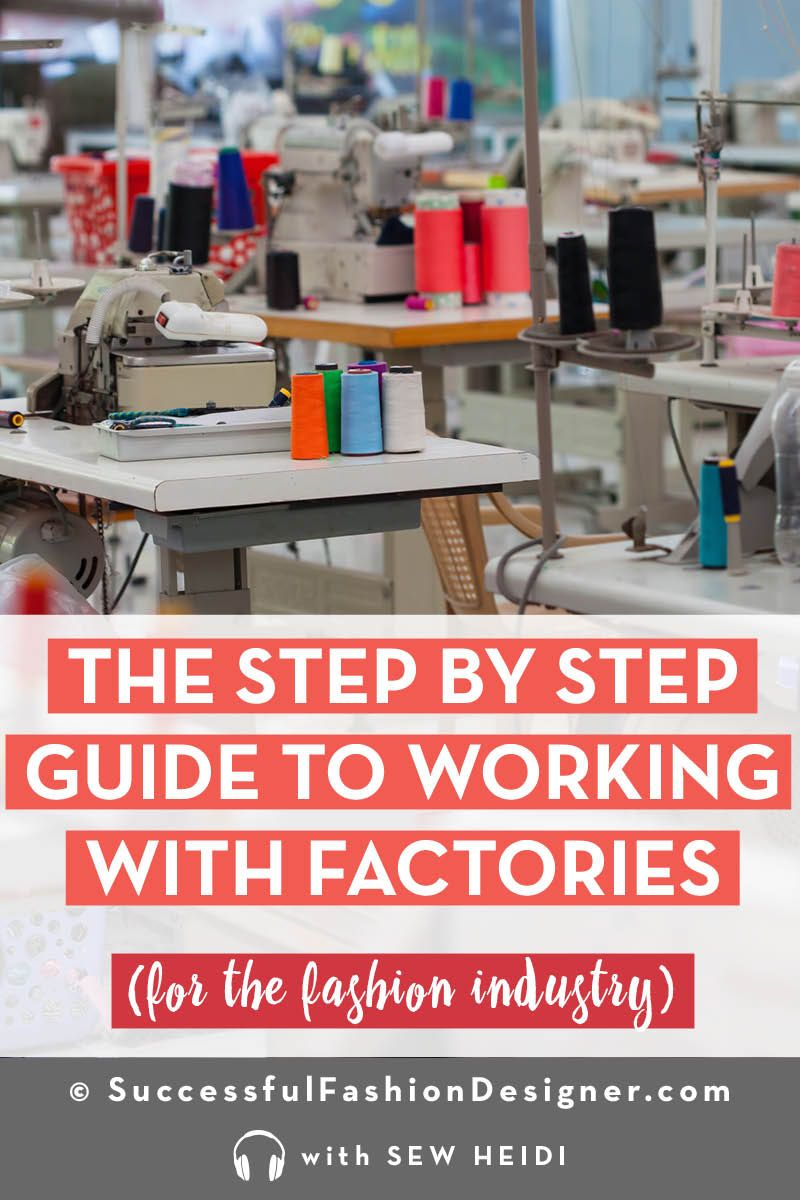 Find An American Clothing Factory To Make Your Fashion Product Fashion Design Jobs Fashion Design Clothing Manufacturer