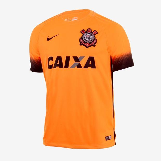 eddb60975a Camisa Nike Corinthians III Torcedor 2015 2016 Masculina