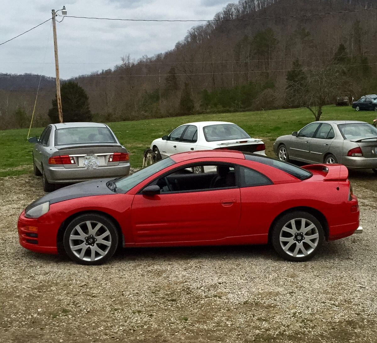 My 2000 Mitsubishi Eclipse Rs Project Car 18 Mazda 6 Gt Wheels