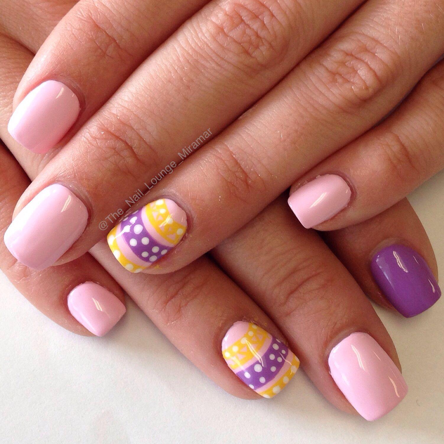Easter egg nail art design   Nail Art   Nail Art by The Nail Lounge ...