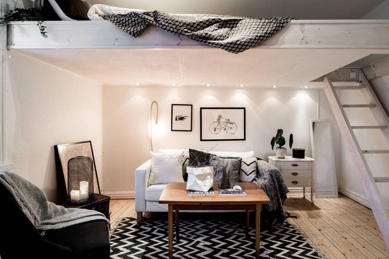Decor Zone U2022 Interior U2022 Home Decor U2022 Decorating U2022 Studio Apartment U2022 Loft  Bed U2022